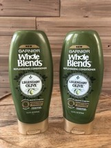 (2) Garnier Whole Blends Replenishing Conditioner Legendary Olive 12.5oz - $11.26