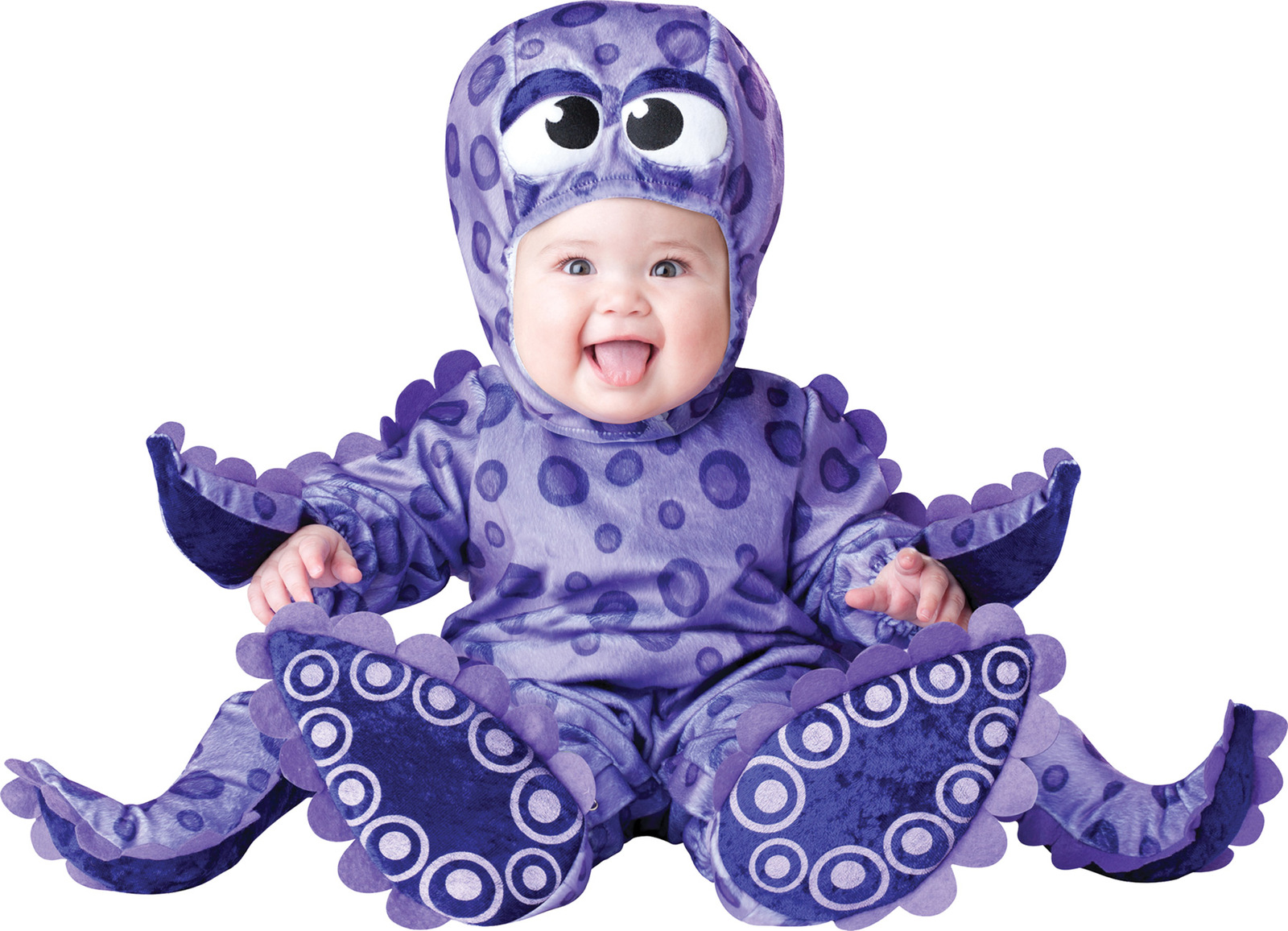 "Infant/Toddler ""Tiny Tentacles"" Octopus Costume Fits 18-24 Months/In Character™"