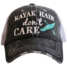 Kayak Hair Don't Care Baseball Hats Caps - $79.42