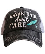 Kayak Hair Don't Care Baseball Hats Caps - $79.42
