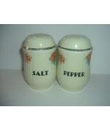 Hall Orange Poppy Kitchen Salt & Pepper Shakers Vintage - $119.99