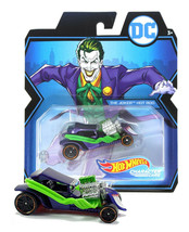 Hot Wheels DC The Joker Hot Rod Character Cars Mint on Card - $12.88