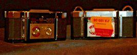 Zeiss Ikon Film Backs Loaders (Pair)  AA20-2070 Vintage (Germ image 5