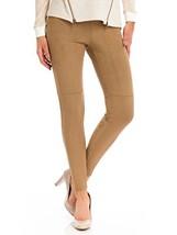 HUE Women's Ultra Suede Leggings, Camel, Large - $41.16