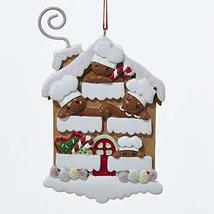 Kurt Adler Four Gingerbread Men Baker House Christmas Ornament - $14.85