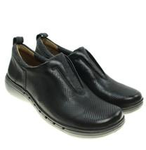 CLARKS Un Spirit Womens Black Leather Slip on Walking Shoes Sz 5 NEW - $72.26