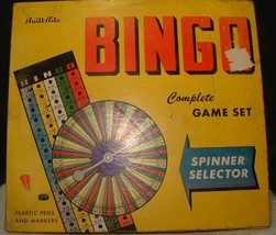 Vintage 1950's Built-Rite BINGO Complete Game Set #116 - $12.86