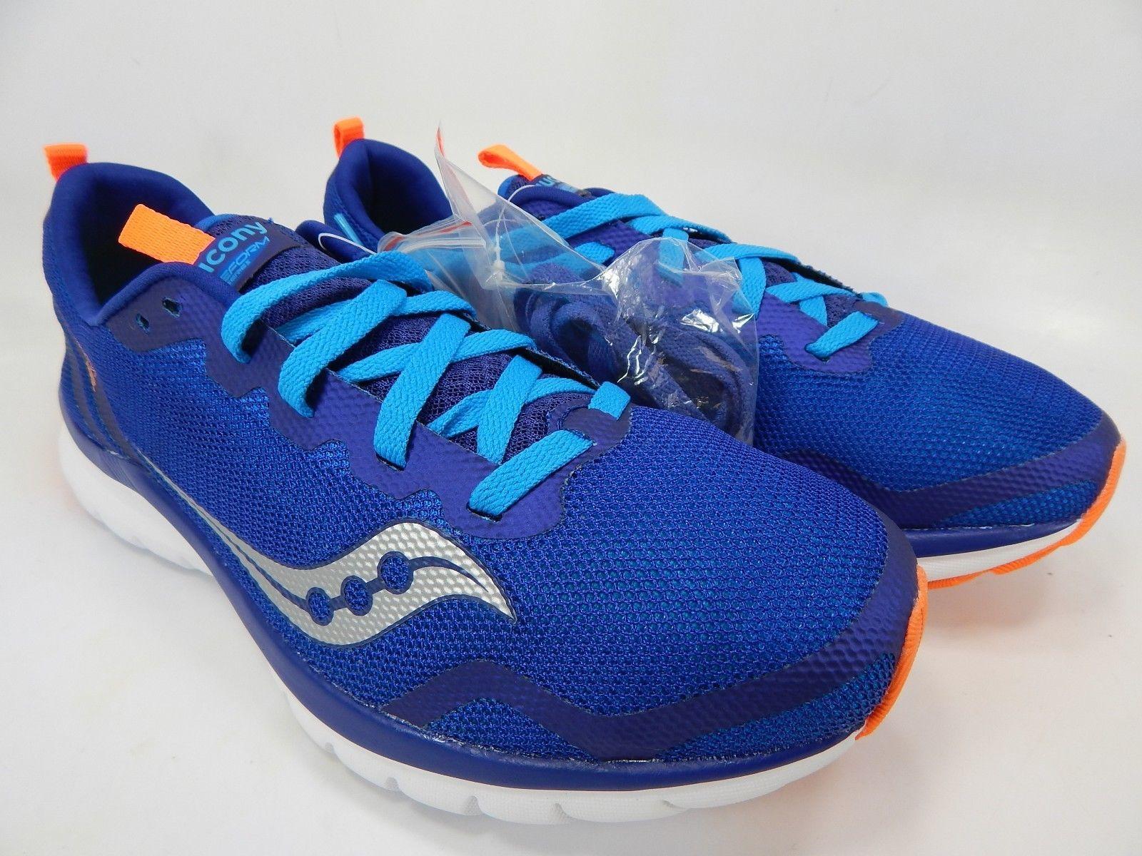 Saucony Liteform Feel Size 9 M (D) EU 42.5 Men's Running Shoes Blue S40008-1