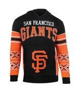 MLB Klew San Francisco Giants Big Logo Hooded Sweater - $54.95