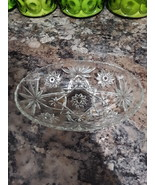 VTG Anchor Hocking Starburst/Star of David Candy Dish  - $32.00