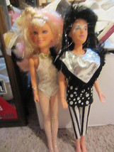 Jem and the Holograms dolls - jetta and rock & curl jem - $85.50