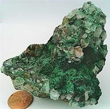 Malachite Crystals Specimen  - $45.05