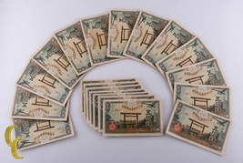 1945 Japanese 50 Sen Notes Lot of 20 Pieces All Uncirculated Condition - $74.25