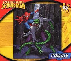 Marvel Spider Sense Spider-Man - 48 Pieces Jigsaw Puzzle - v2 - $7.13