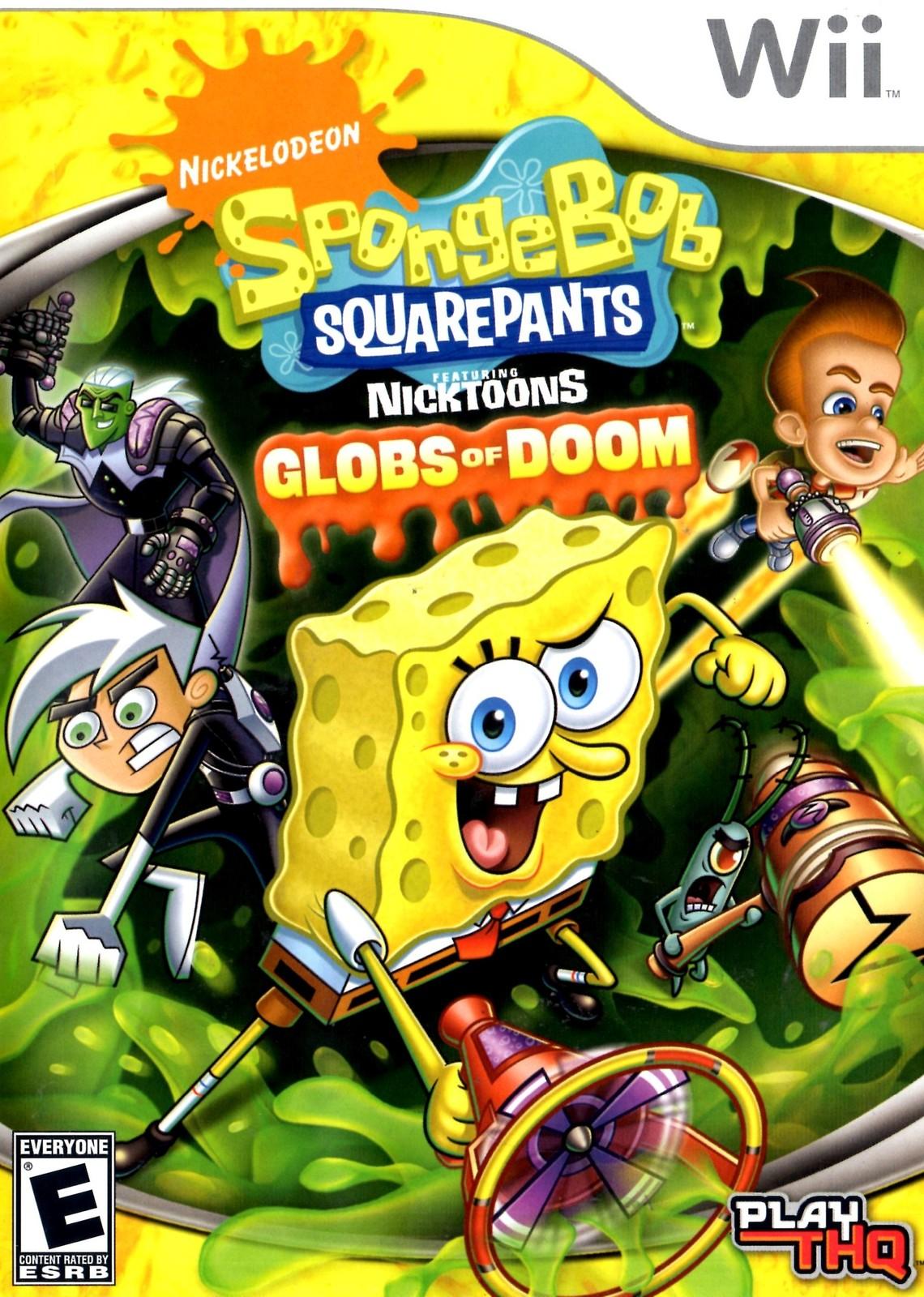 Wii - Sponge Bob Squarepants - Globs of Doom