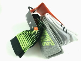 Nike Kids' Graphic Crew Socks 3 Pack 13C-3Y #295G - $11.86