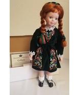 """Royalton Colección 18"""" Pulgada Muñeca de Porcelana Colleen Verde Vestido... - $39.54"""