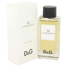 La Temperance 14 by Dolce & Gabbana Eau De Toilette Spray 3.3 oz - $56.95