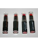 WET N WILD MegaLast Lip Color Lipstick #903C ;#906D ;#966 & #970 Lot Of ... - $10.44