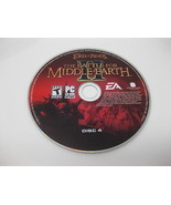 The Lord of the Rings The Battle for Middle-Earth II Replacement DISC 4 ... - $6.99