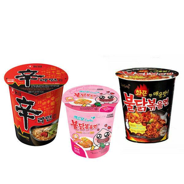 Spicy Chicken Noodles BULDAKBOKEUM Cup Ramyun/Noodle NongShim cup Shin Ramyun