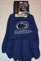 Ncaa Nwt All Blue No Slip Utility Work GLOVES- Penn State - $8.95