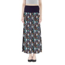 Women's Owl Bird Printed Summer Casual Stretchy Fit Long Maxi Skirt Size... - $28.99+
