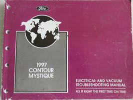 1997 Ford Contour Mystique Electrical Wiring Diagrams Service Manual OEM Factory - $2.82