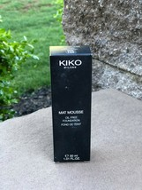 NEW IN BOX KIKO Milano Mat Mousse Foundation WR140 30ml Satin SPF 15 Oil... - $9.90