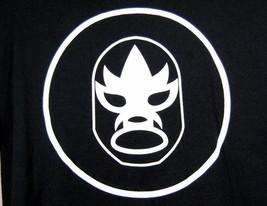 Lucha Libre Luchador T-Shirt Mask Logo Graphic Bonadea Aquas Frescas XL Tee - $16.95
