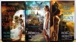 Morgan Howell THE SHADOWED PATH 1-3  10 COPPERS CANDLE IN THE STORM IRON... - $7.76
