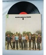 Blood, Sweat & Tears 3 Disque Vinyle Vintage 1970 Columbia Records Stéréo - $52.98