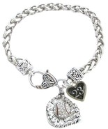 Custom Baseball Glove Crystal Claw Bracelet Jewelry Jersey Numbers 00-49... - $14.87