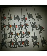 1992 Battle Masters Board Game Gray men(26) - $28.01
