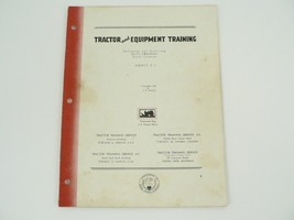 Tractor Equip Training Manual Operating/Servicing Allis Chalmers Track M... - $50.00
