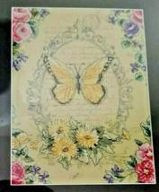 FRENCH BUTTERFLY Cross Stitch Kit 1389030 Papillon Nature Artiste MSRP $... - $11.99