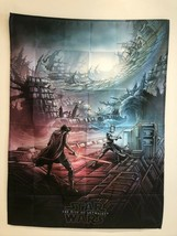 THE RISE OF SKYWALKER Star Wars Poster Flag Banner Fabric Wall Tapestry V2 - $26.07