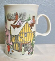 "Vintage Dunoon Sue Scullard Christmas Past Mug Made in Scotland 4.25"" - $17.00"