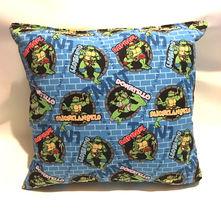 TMNT Pillow And Blanket Teenage Mutant Ninja Turtle Wall Pillow and Blanket Set image 5