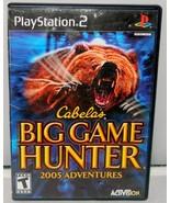 Cabela's Big Game Hunter: 2005 Adventures - PlayStation 2 - $1.24