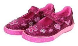 Lelli Kelly Girls' Dafne Cute Flats Shoes,LK6464,purple Glitter,Size US ... - $34.64