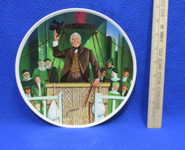 The Wonderful Wizard Oz Collectors Plate Hot Air Balloon James Auckland ... - $14.84