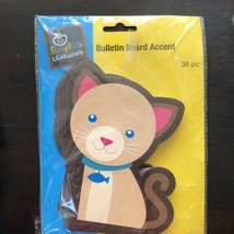 bulletin board decorations Accent Busy Kids Learning Kitty Cat Kitten Si... - $7.91