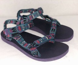 TEVA Universal Multicolored Sandals Adjustable Canvas Navo Women's F3014... - $31.79