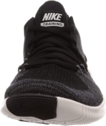 Nike Women's Free TR Flyknit 3 Running Shoe Black/Dark Grey 11 - $74.04