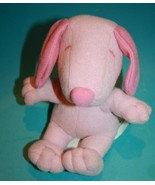 "SNOOPY 7"" Pink Plush Dog Stuffed Animal Peanuts Valentine Day Toy Russel... - $17.39"