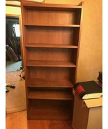 Stickley Solid Oak 6 shelf open Book Case - $891.00