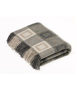 Geometric Double Square Throw Grey - $118.79