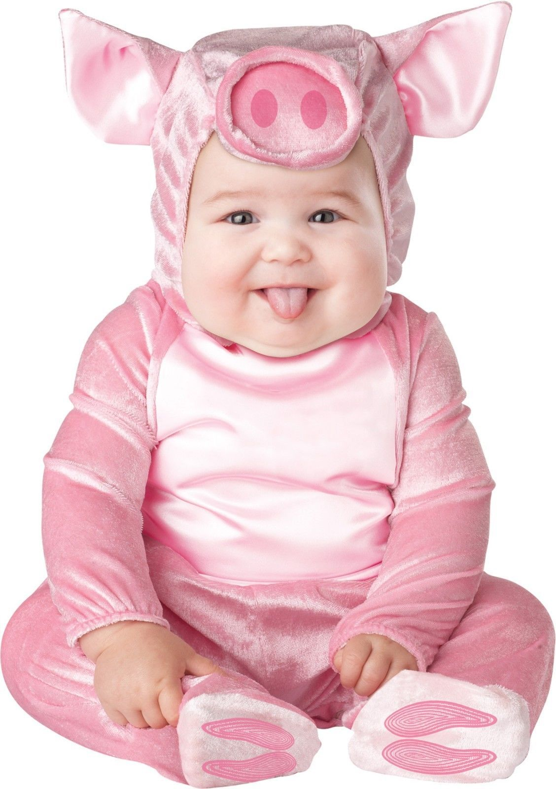 Infant/Toddler Pink Piggy Halloween Costume Fits 18-24 Months