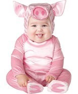 Infant/Toddler Pink Piggy Halloween Costume Fits 18-24 Months - £30.88 GBP